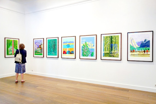 Expo david hockney the yosemite suite galerie lelong for Expo jardin paris