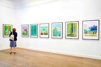 Expo : David Hockney, The Yosemite Suite - Galerie Lelong - Jusqu'au 13 juillet 2017