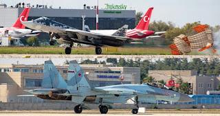 Su-57 dan Su-35 Rusia