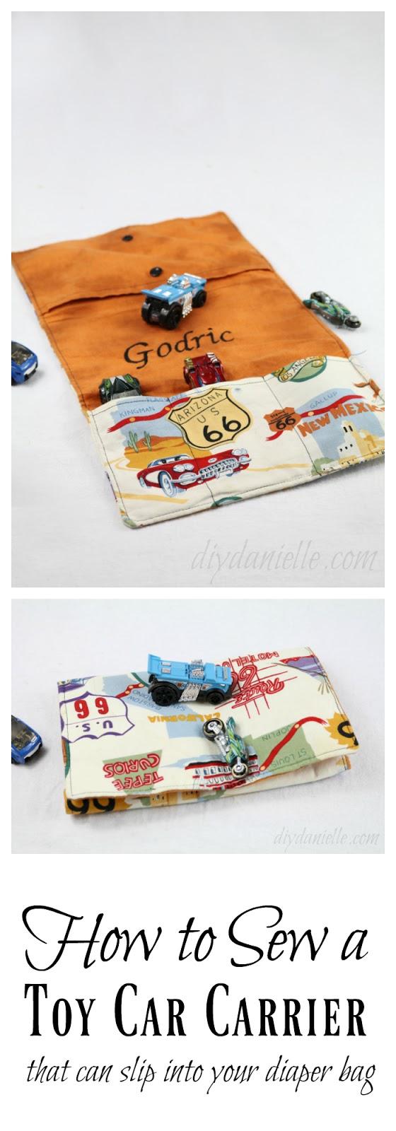 DIY Toy Car Carrier