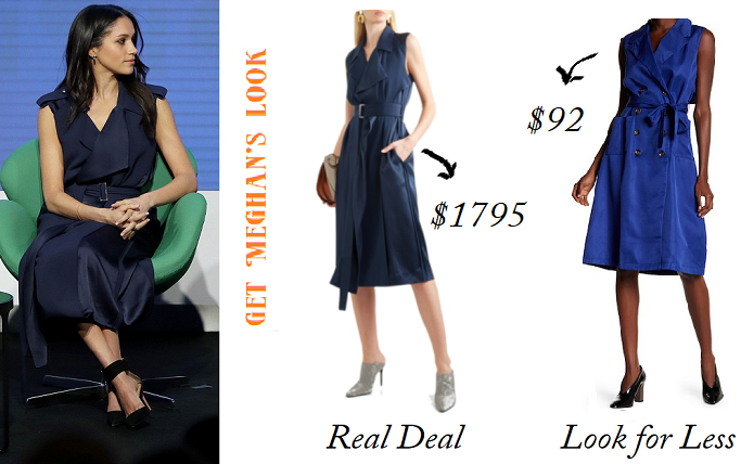 ec59e3fa148b Get Meghan Markle's Jason Wu Trench Dress Look For Less