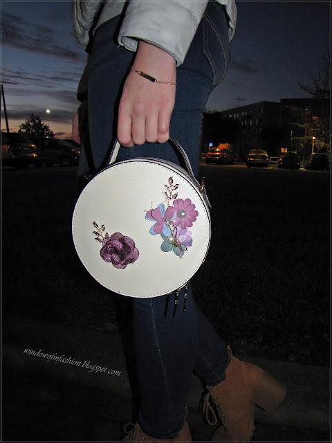 DressLily, torebka z kwiatami