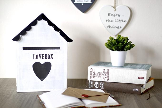 Comunicación parejas DIY LoveBox