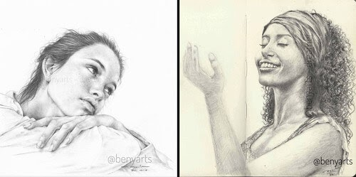 00-Benyarts-Expressions-and-Feelings-in-Graphite-Drawings