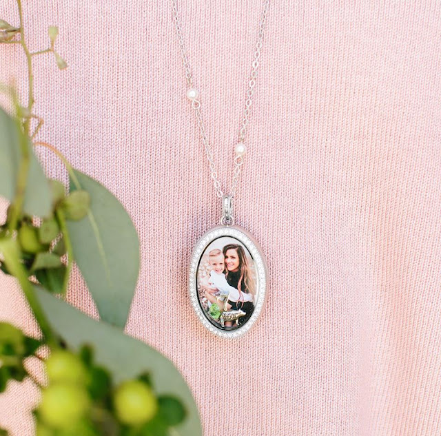 Limited Edition Legacy Silver Oval Photo Living Locket available at StoriedCharms.com