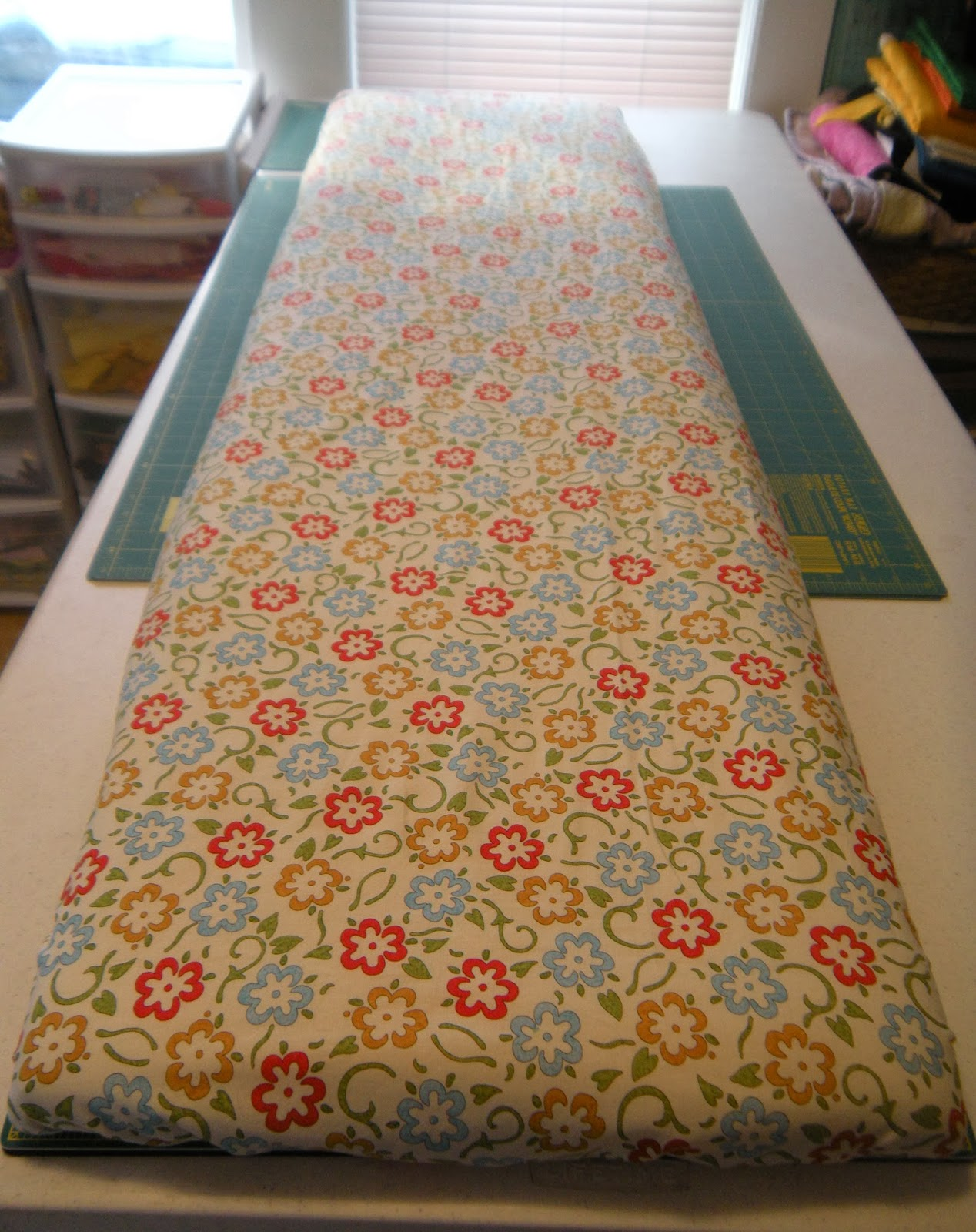 Life In The Scrapatch Diy Ironing Board Project Tutorial