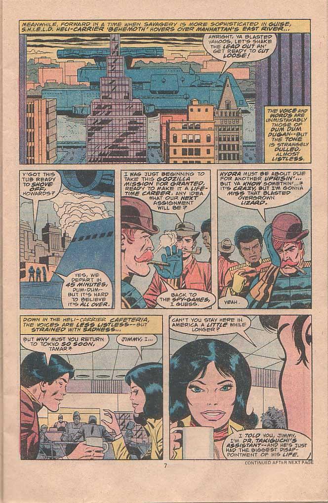 Godzilla (1977) Issue #22 #22 - English 5
