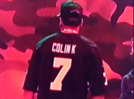 01001620c Jay Z Wears Colin Kaepernick Jersey on SNL