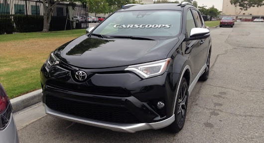 Toyota's Facelifted 2016 RAV4 And New RAV4 Hybrid Snagged Out In The Open