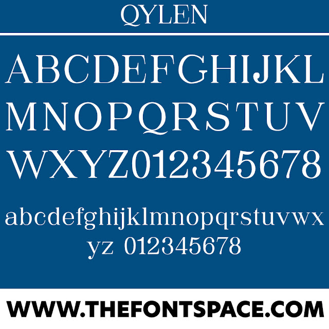 Qylen Typeface Download Font Free