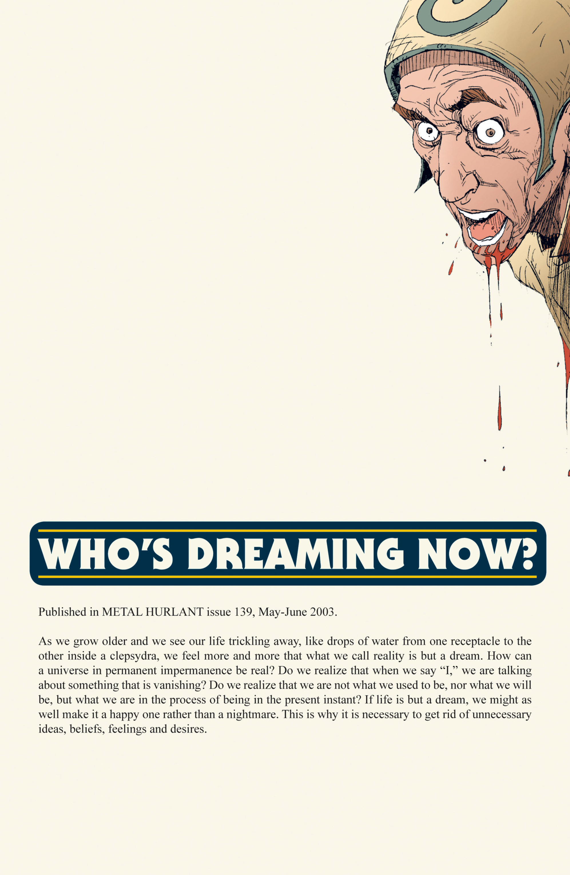 Read online Alejandro Jodorowsky's Screaming Planet comic -  Issue #1 - 45