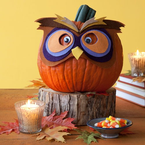 My Owl Barn 11 No Carve Halloween Owl Pumpkins