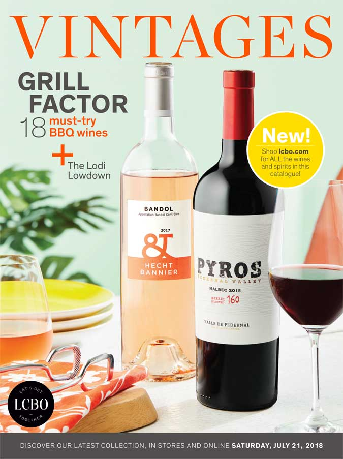 LCBO Wine Picks: July 21, 2018 VINTAGES Release