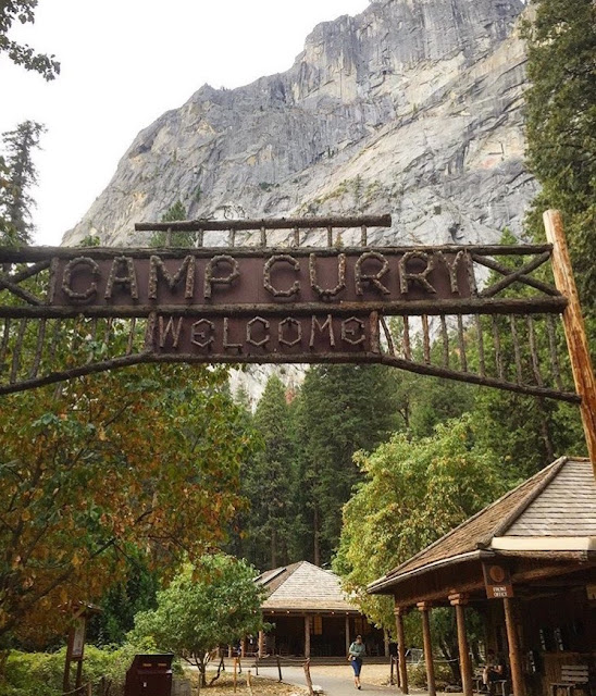 Camp Curry. Yosemite National Park