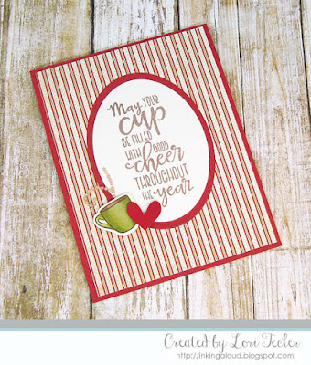 Good Cheer Throughout the Year card-designed by Lori Tecler/Inking Aloud-stamps and dies from Verve Stamps