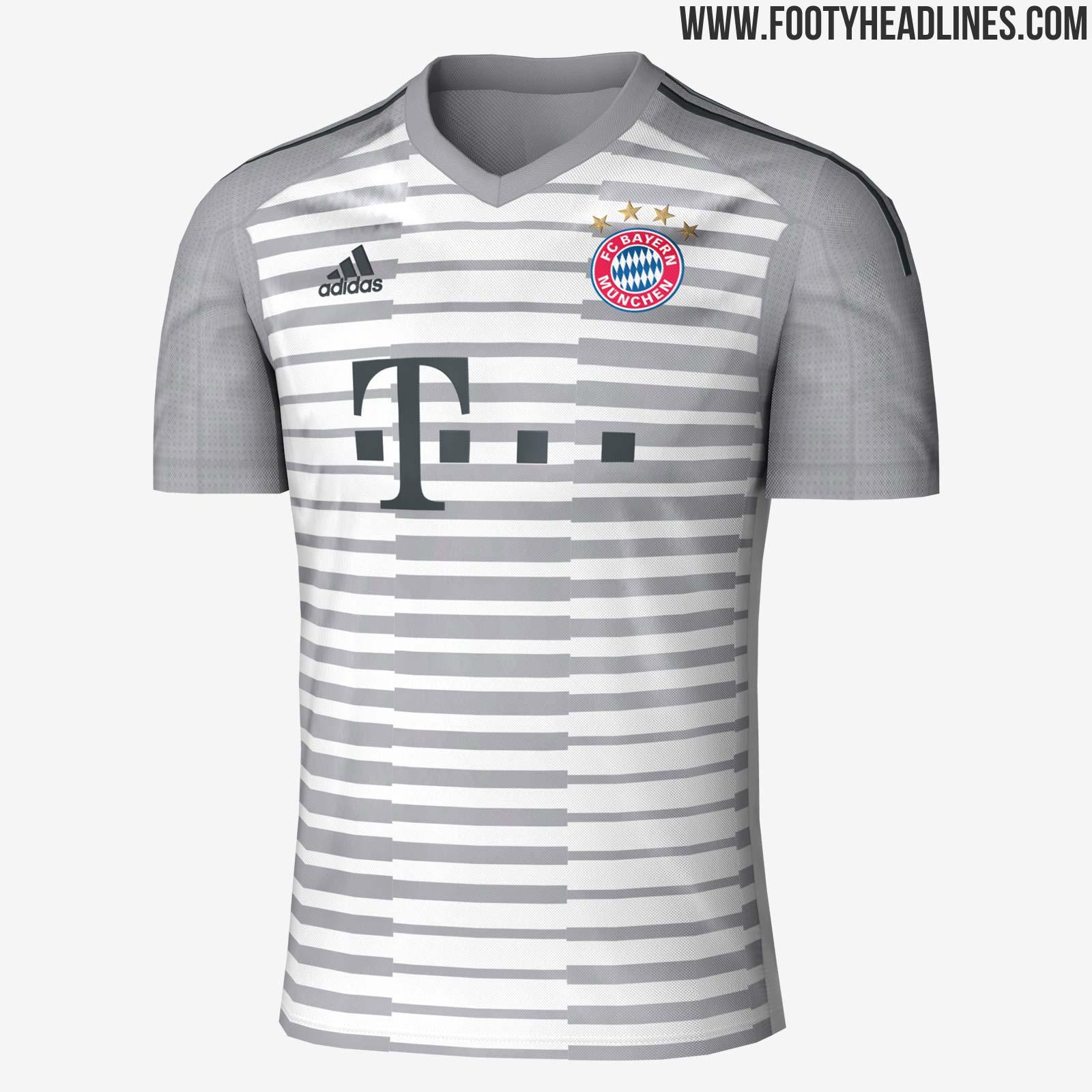 d6ceaf980 Bayern Munich 18-19 Goalkeeper Kit Leaked