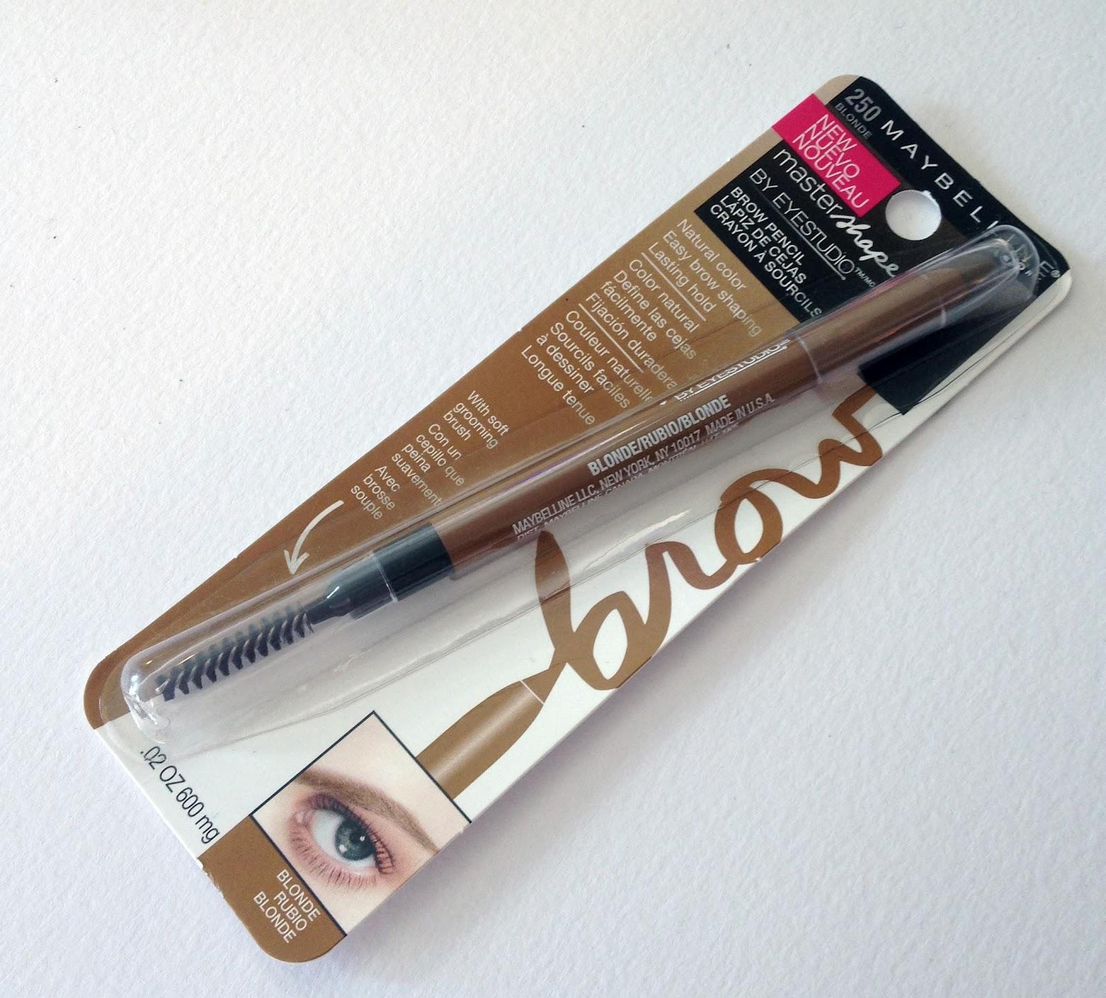 Beauté Gazette: Maybelline Master Shape Brow Pencil - Blonde