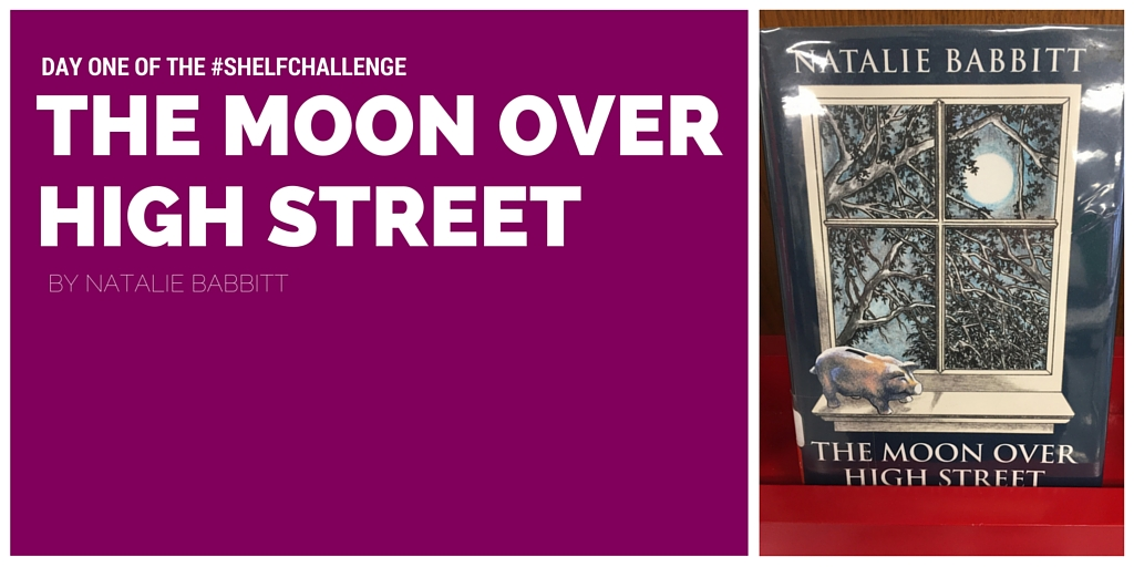 School Library Month Shelf Challenge Day One The Moon Over High