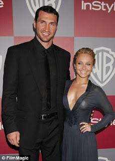 Wladimir Klitschko and his wife Hayden Panetierre