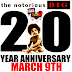 THE NOTORIOUS BIG: 20 YEAR ANNIVERSARY (MARCH 9TH, 1997)