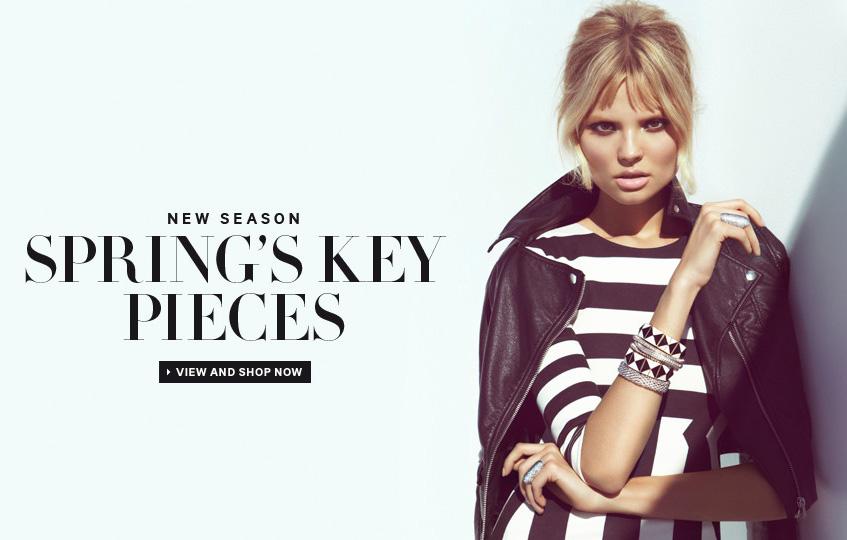 f4b6904f85 H M Spring Key Pieces 2013 featuring Magdalena Frackowiak