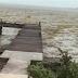 Incrível: Furacão suga oceano das Bahamas e o mar fica seco.