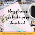 Blog planner gratuito para download