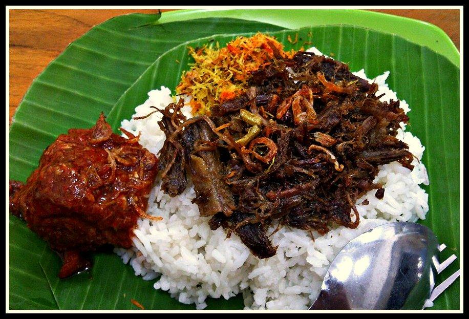 Nasi Krawu Makanan Tradisional Dari Gresik Jawa Timur Negeriku