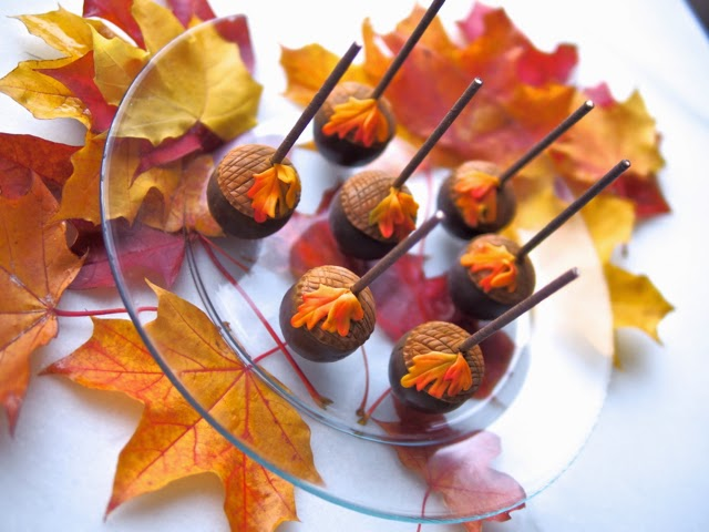 Beautiful Fall Colors Cake, Fall Leaves Colors ...