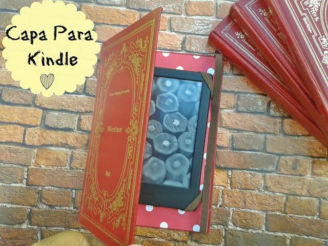 DIY-  Faça a capa do seu  Kindle/ E-reader ou Tablet gastando muito pouco