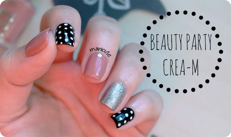 BeautyParty Crea-m polka dots manicure