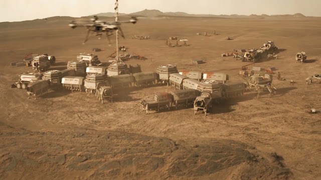 Human base - image from Season 2 of NatGeo MARS TV series