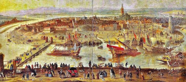 Anonim - Vista de Sevilla (c.1660)