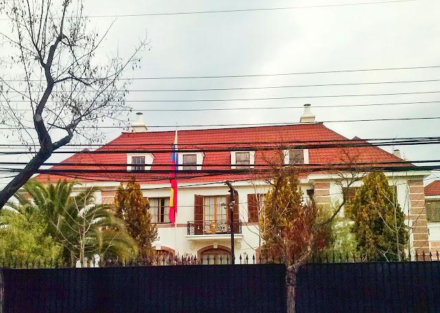 Resultado de imagen para embajada de venezuela en chile