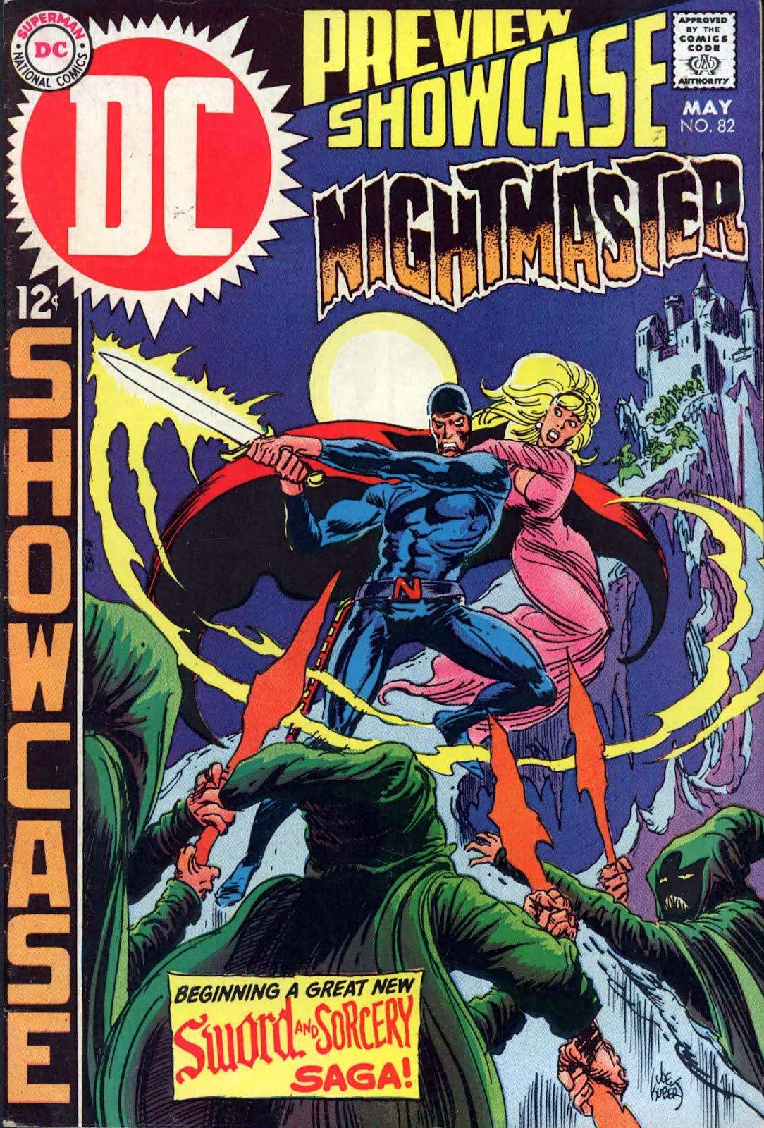 Silver Age Comics: Showcase #82: DC Beats Marvel To Sword