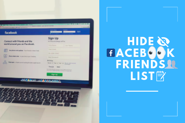 Hide Friend List Facebook<br/>