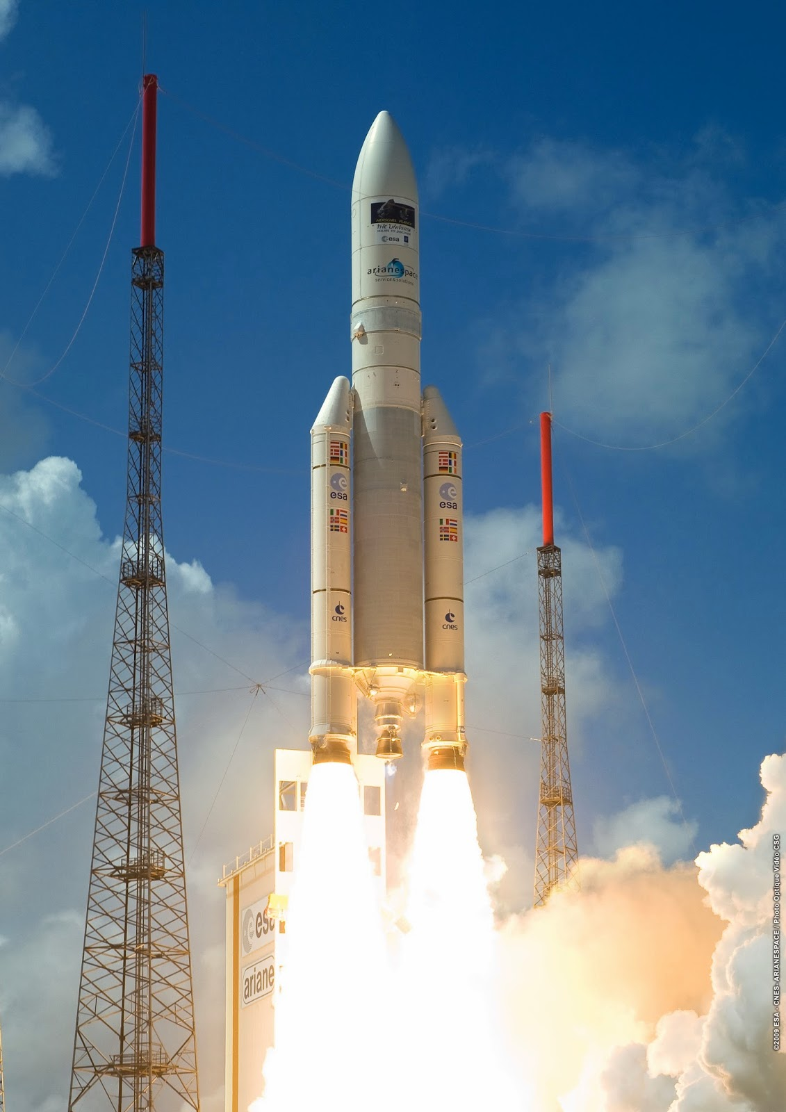 DCNewsroom: Arianespace aims for new satellite launch ...