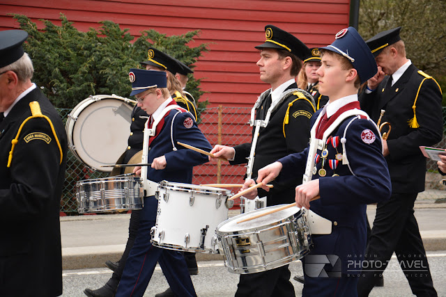 Norweskie flagi, orkiestra