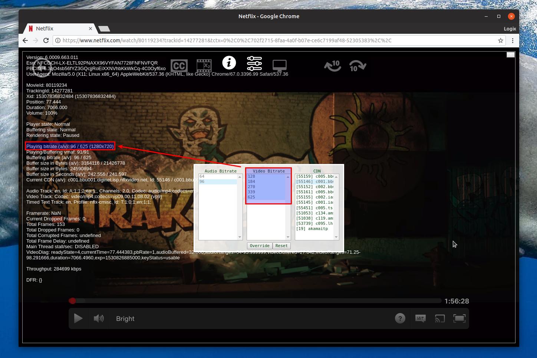 Chrome Netflix 1080p