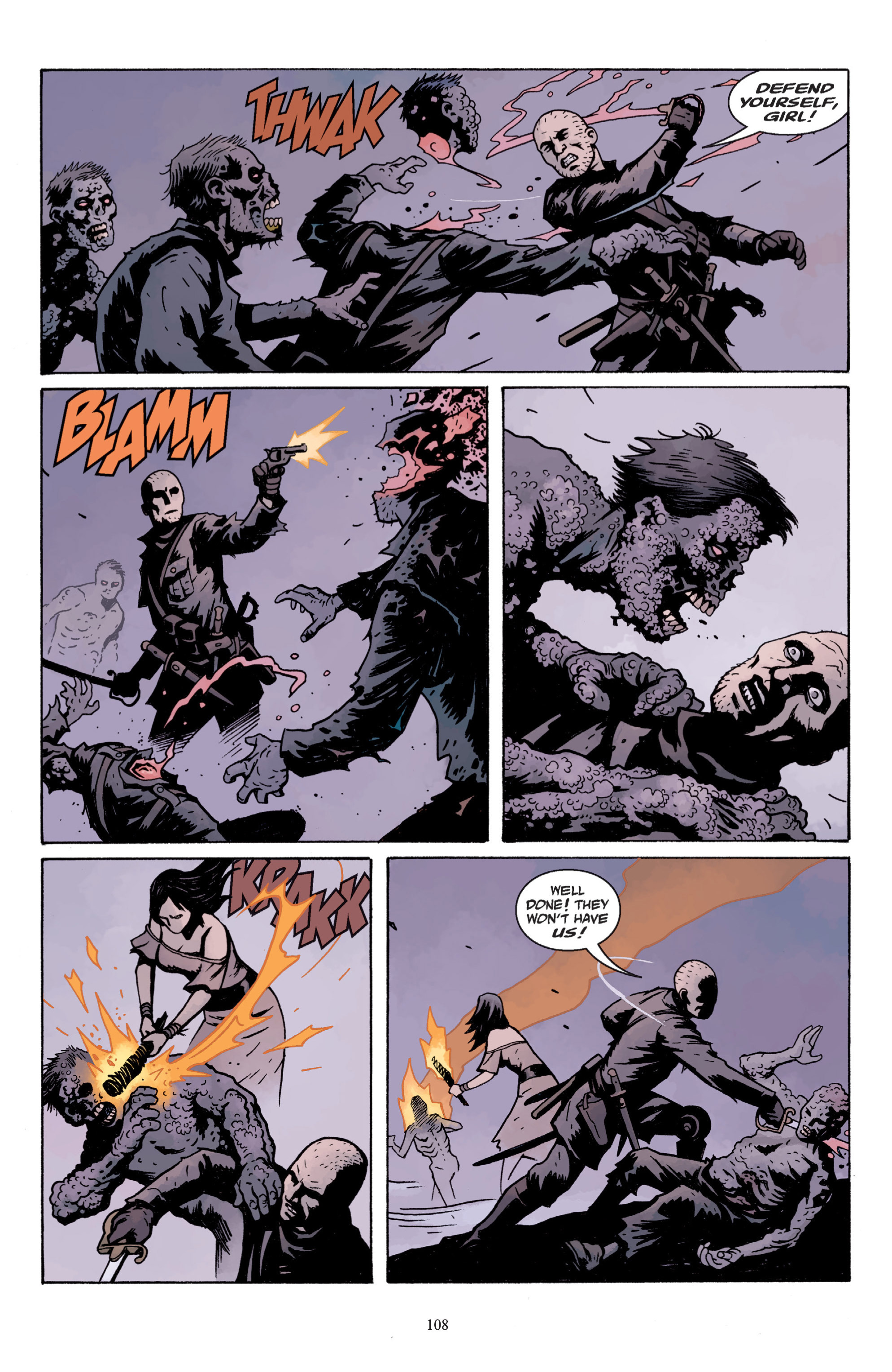 Read online Baltimore: The Plague Ships comic -  Issue # TPB - 108