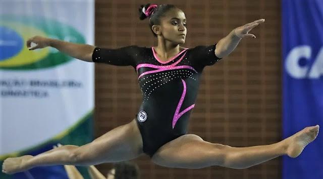 Morre a ginasta Jackelyne Silva falece aos 17 anos