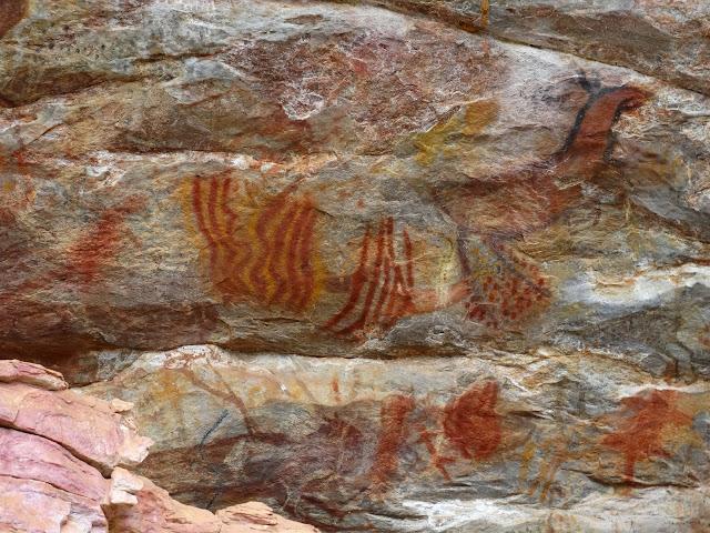 Sítio Arqueológico Pedra Pintada - Cocais - Minas Gerais