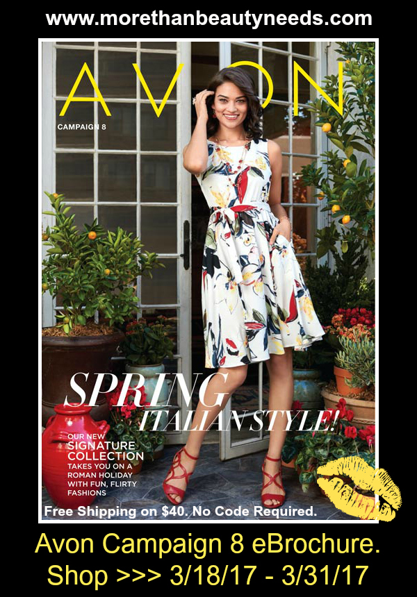 Click on image to shop Avon Campaign 8 >>>