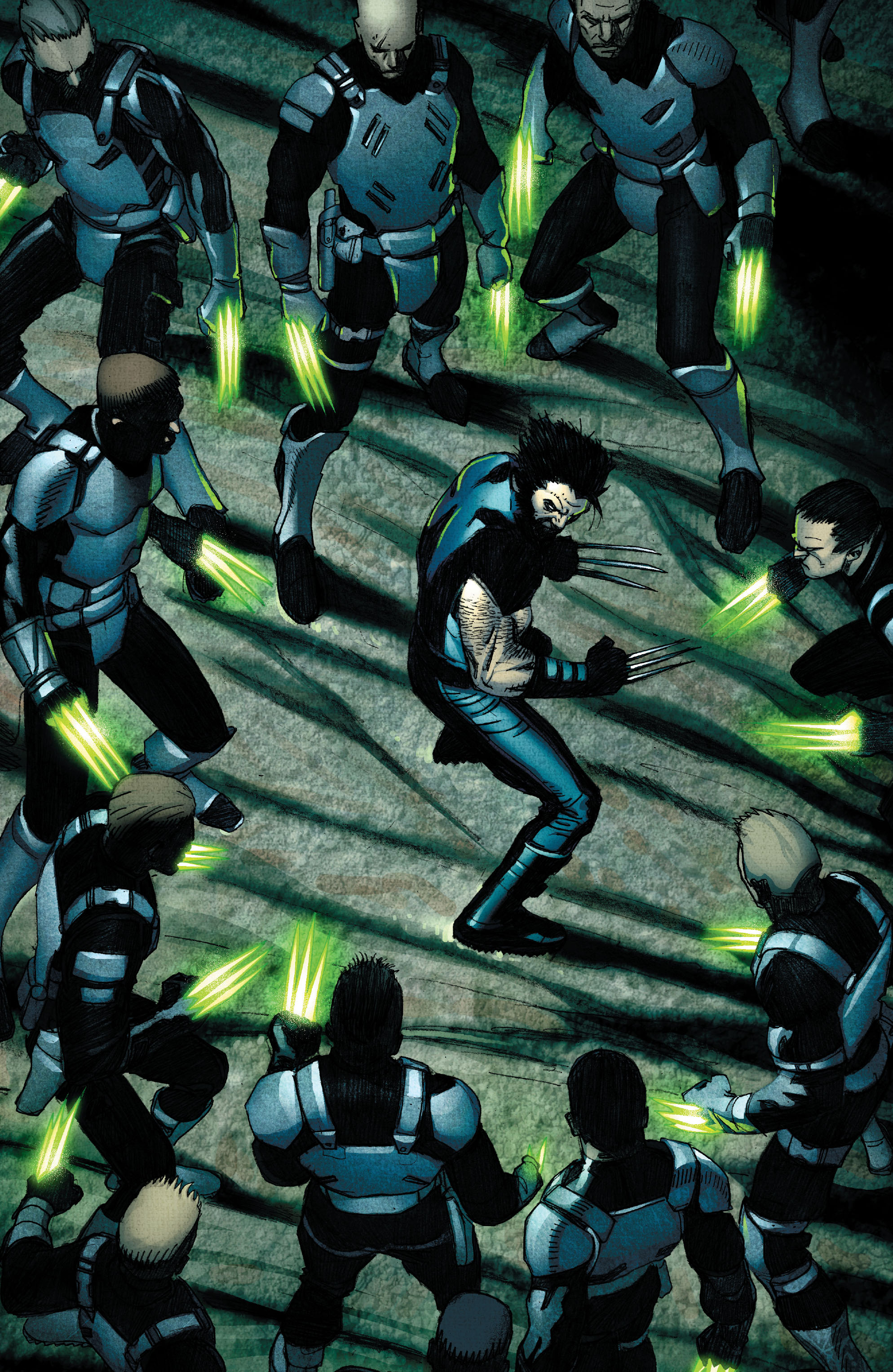 Read online Wolverine: Weapon X comic -  Issue #2 - 21