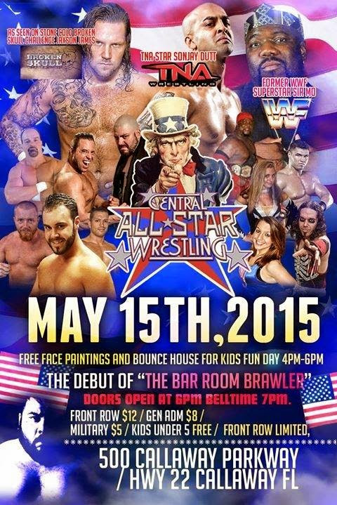 Central All-Star Wrestling (May 15th, 2015)