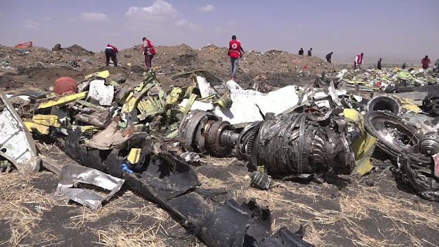 Ethiopia plane crash: Faulty sensor data led to crash that killed 157 people, report finds
