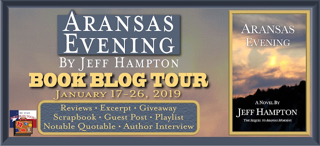 Aransas Evening book blog tour promotion banner