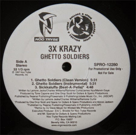 Last selection 3x krazy ghetto soldiers sickkaluffa 12 39 39 1997 - Welcome to the ghetto instrumental ...
