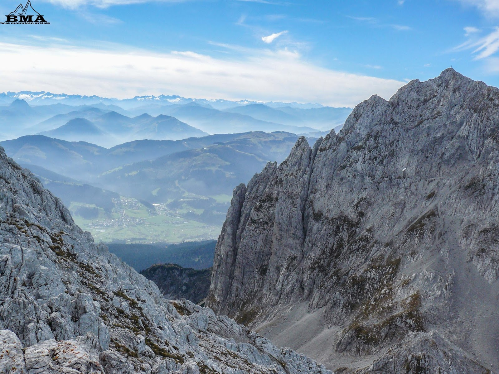 Klettersteig Wilder Kaiser Ellmauer Halt : Bergtour hintere goinger halt kaiserbachtal