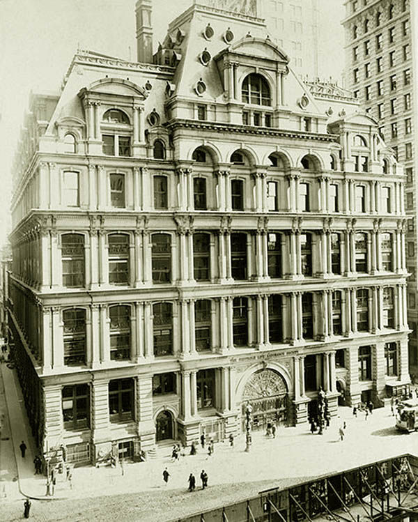 Picture of the Equitable Life Building